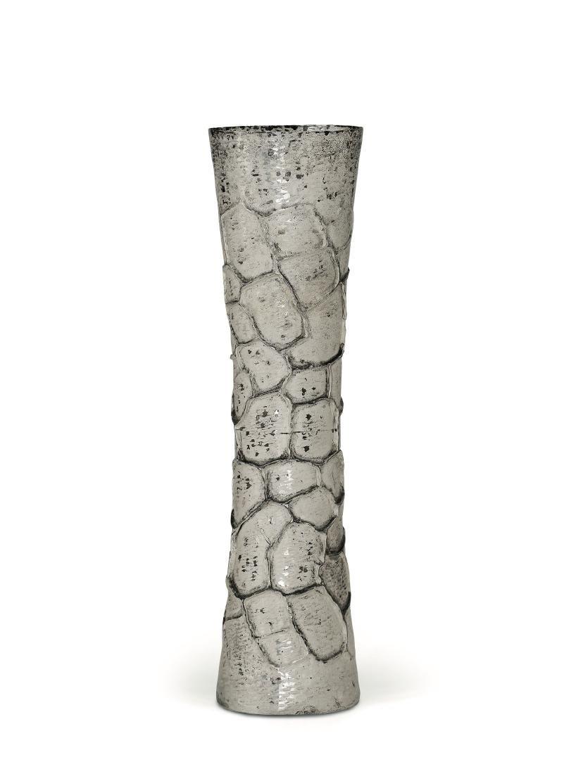 A silver vase, Italy, 20th century