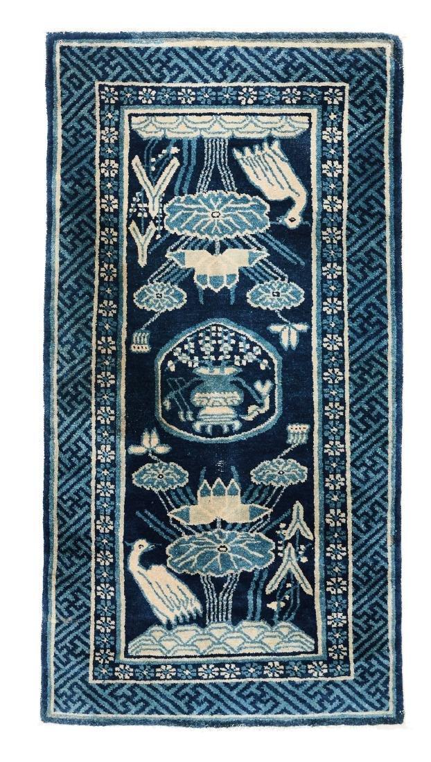 Piccolo tappeto, Cina, inizio XX secolo,