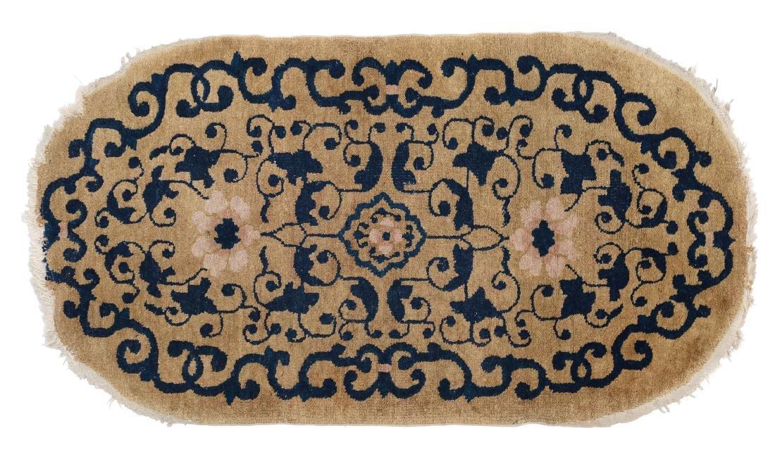 Tappeto cinese, fine XIX secolo,
