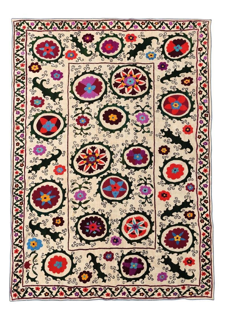 Suzani, Uzbekistan inizio XX secolo,