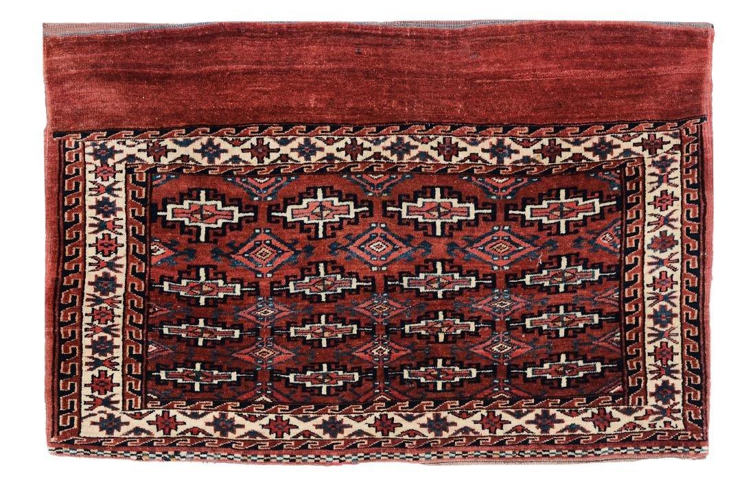 Chuval Yomut Turkestan occidentale, inizio XX secolo,