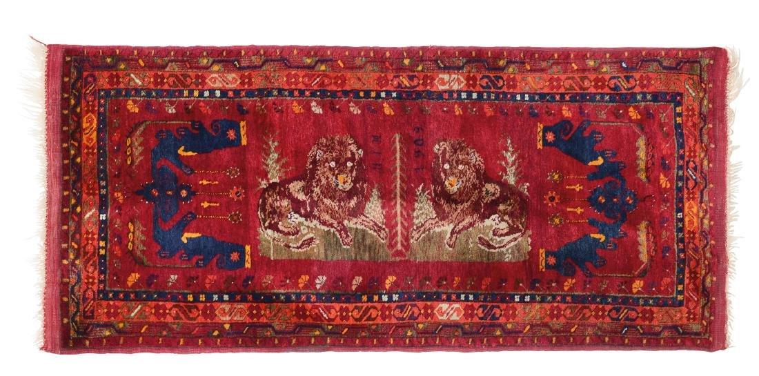Raro tappeto Gilveri, Anatolia 1903,