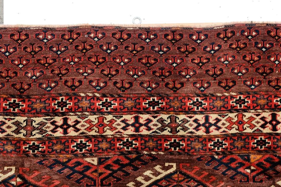 Tappeto Yomut, Turkestan occidentale fine XIX inizio XX - 2
