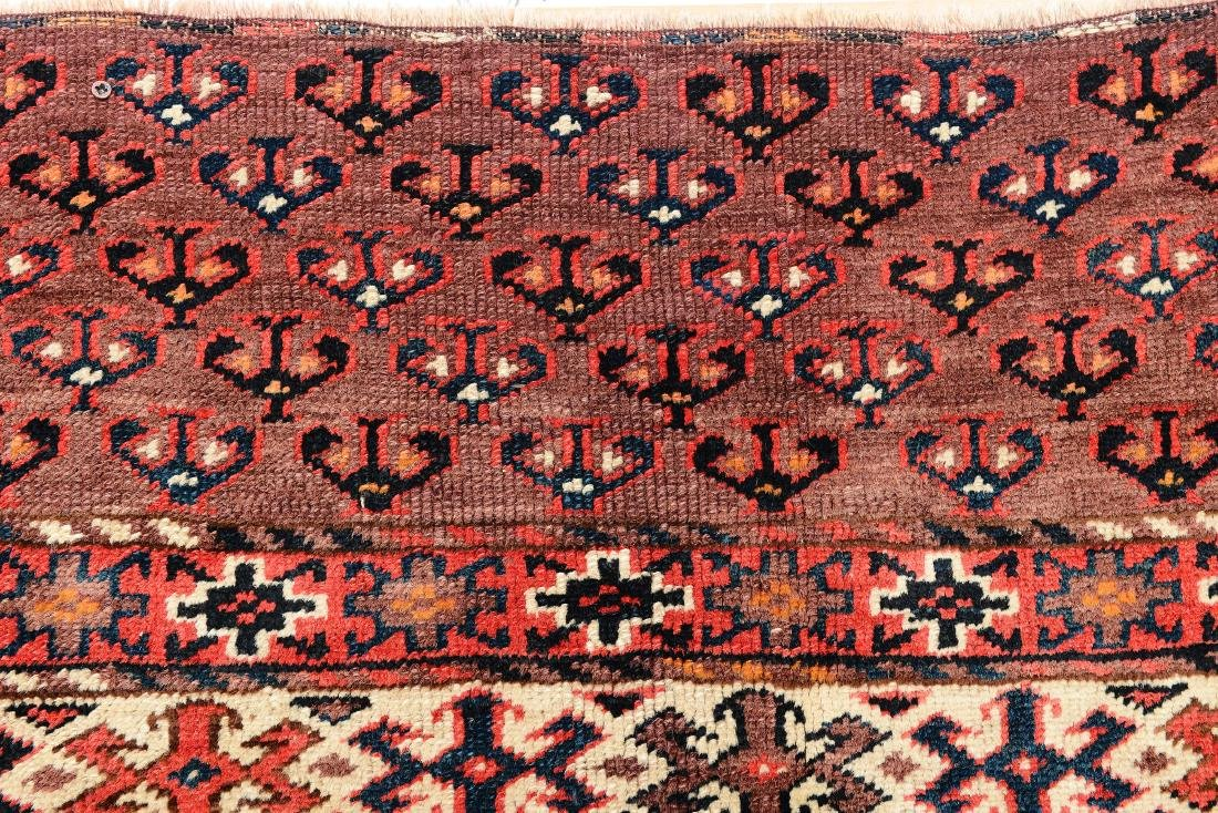 Tappeto Yomut, Turkestan occidentale fine XIX inizio XX - 3