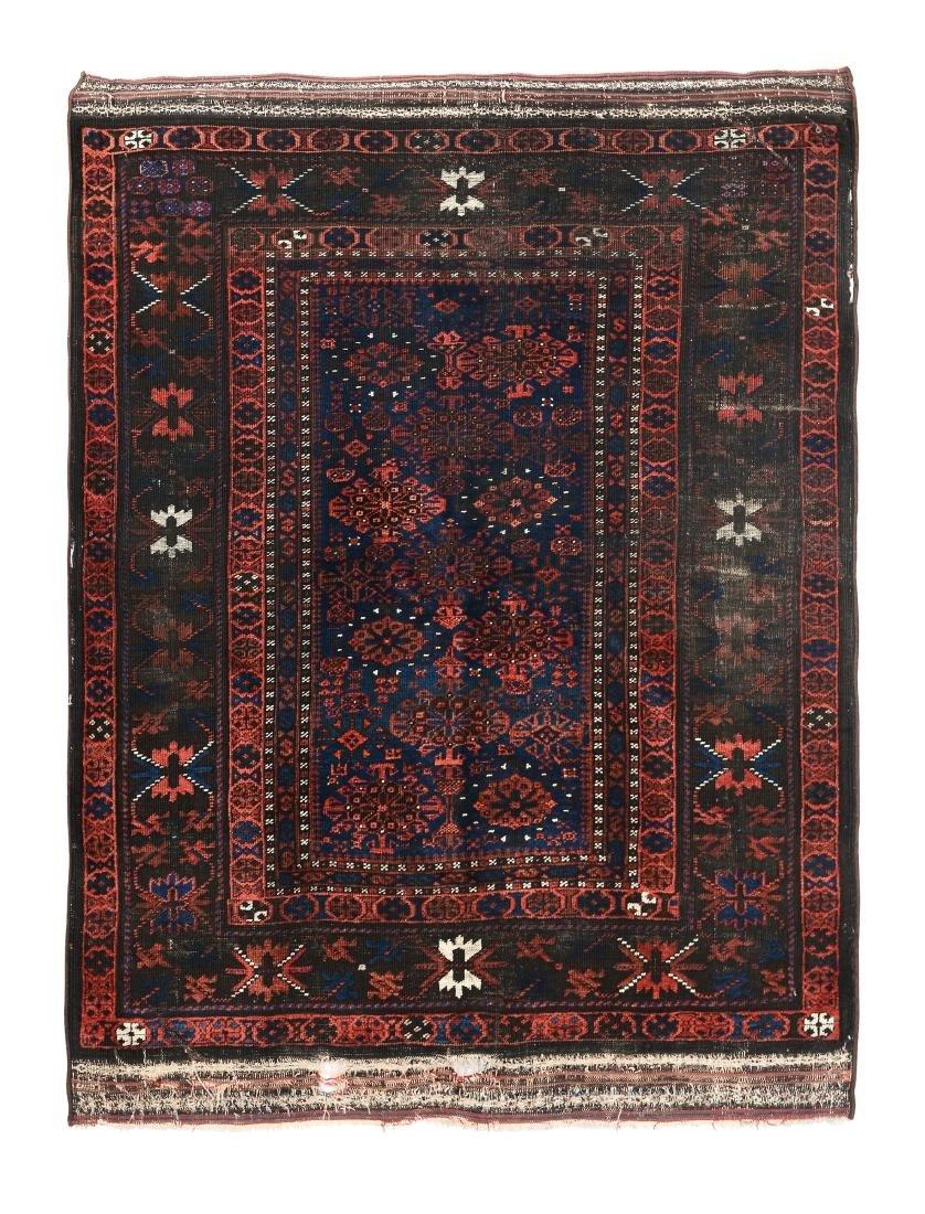 Tappeto Baluch nord est Persia, fine XIX inizio XX