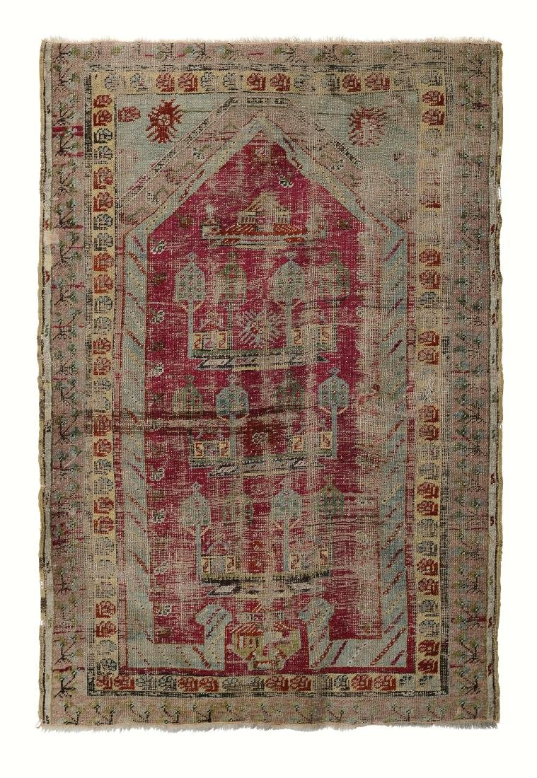 Preghiera Ghiordes, Anatolia fine XIX secolo,