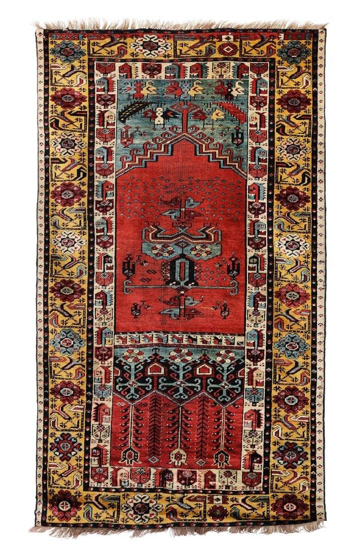 Tappeto Ladik, Anatolia fine XIX secolo,