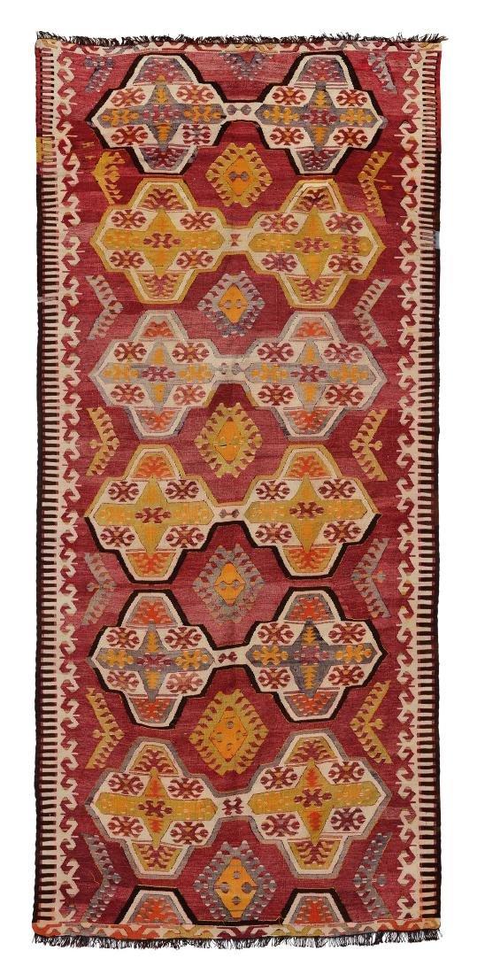 Kilim Anatolia fine XIX inizio XX secolo,