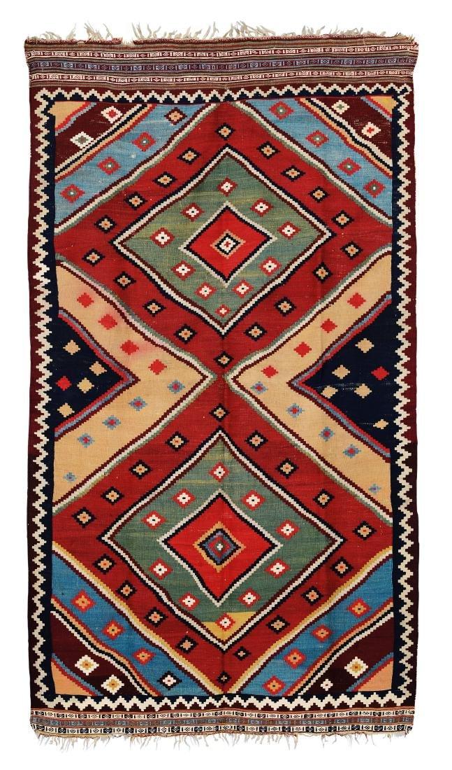 Kilim Quasqua'i, sud Persia fine XIX secolo,