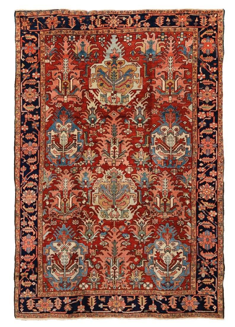 Particolare tappeto nord ovest Persia Heritz fine XIX