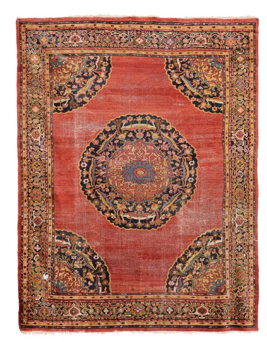 Tappeto Mahal, nord ovest Persia fine XIX secolo,