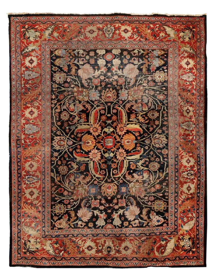 Grande tappeto Mahal, nord ovest Persia seconda metà