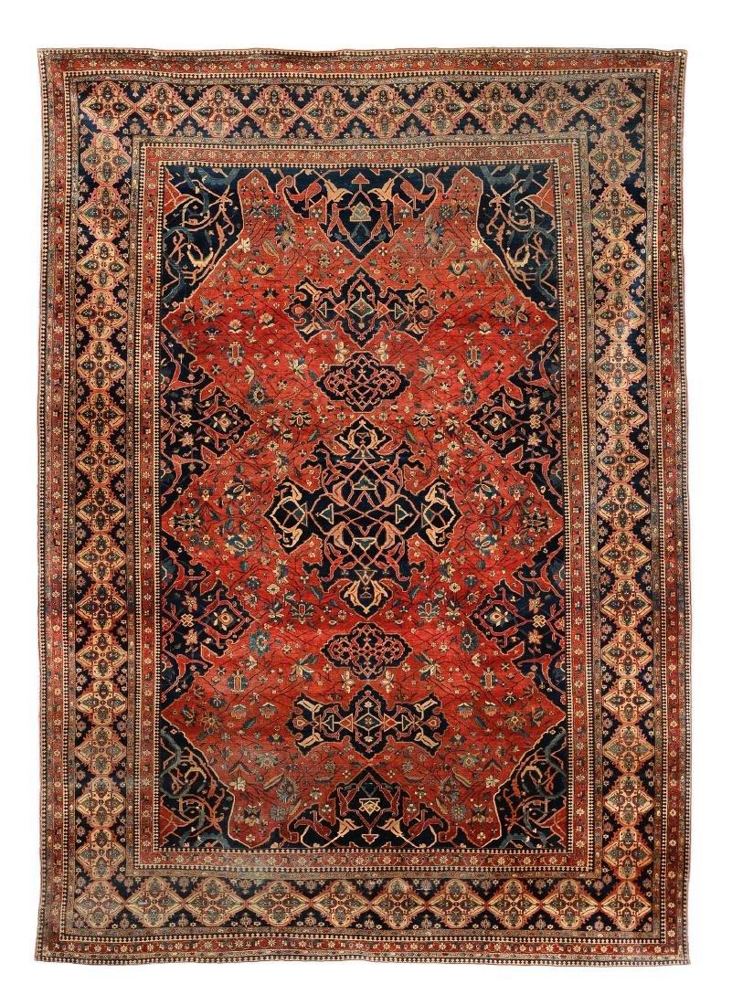 Tappeto Kashan Persia fine XIX secolo,