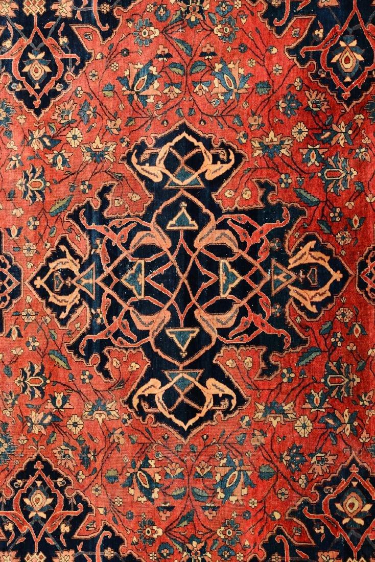 Tappeto Kashan Persia fine XIX secolo, - 2