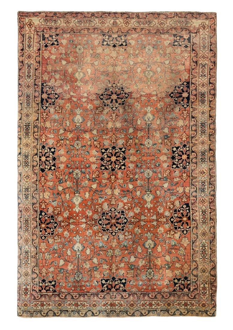 Tappeto persiano Sarouk, fine XIX secolo,