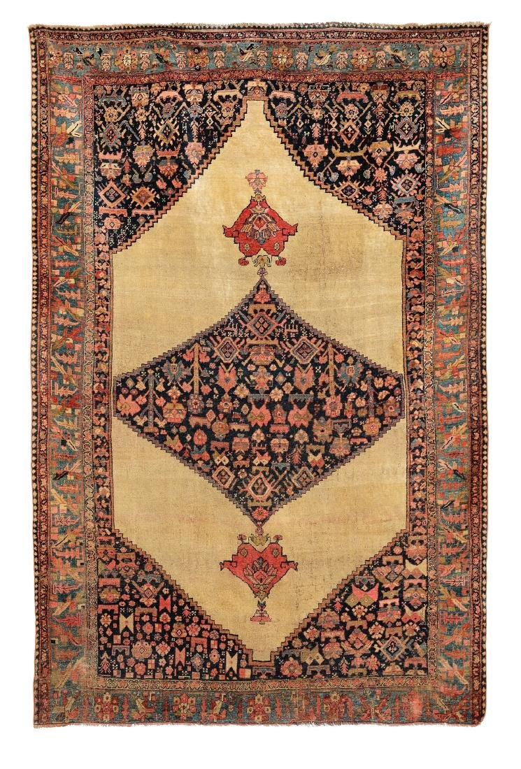 Tappeto Bidjar, Persia fine XIX secolo,