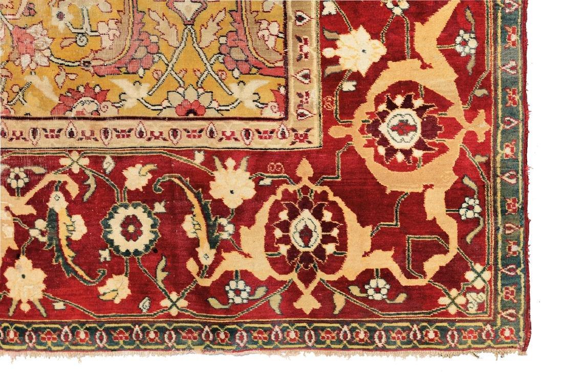 Elegante tappeto Agra, India metà XIX secolo, - 2