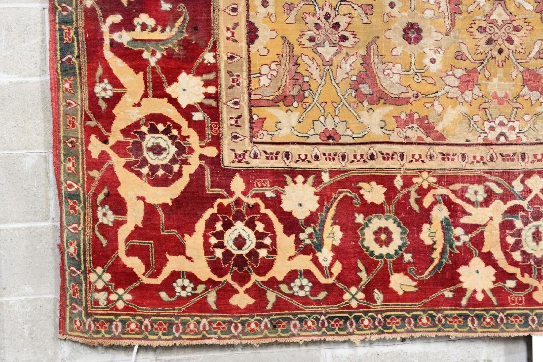 Elegante tappeto Agra, India metà XIX secolo, - 3