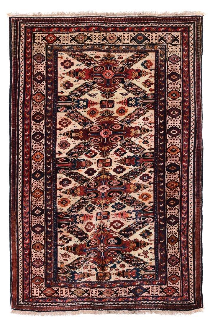 Tappeto Seichur Caucaso fine XIX inizio XX secolo,