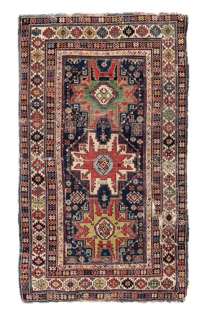 Tappeto Shirvan Lesghi caucaso XIX secolo,