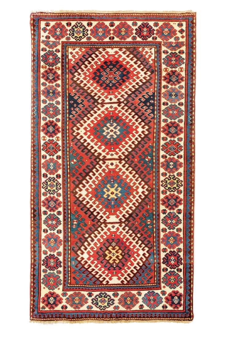 Tappeto Kazak fine XIX secolo,