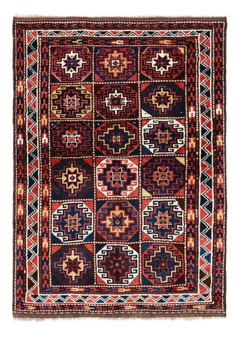 Tappeto Kurdo nord ovest Persia inizio XX secolo,