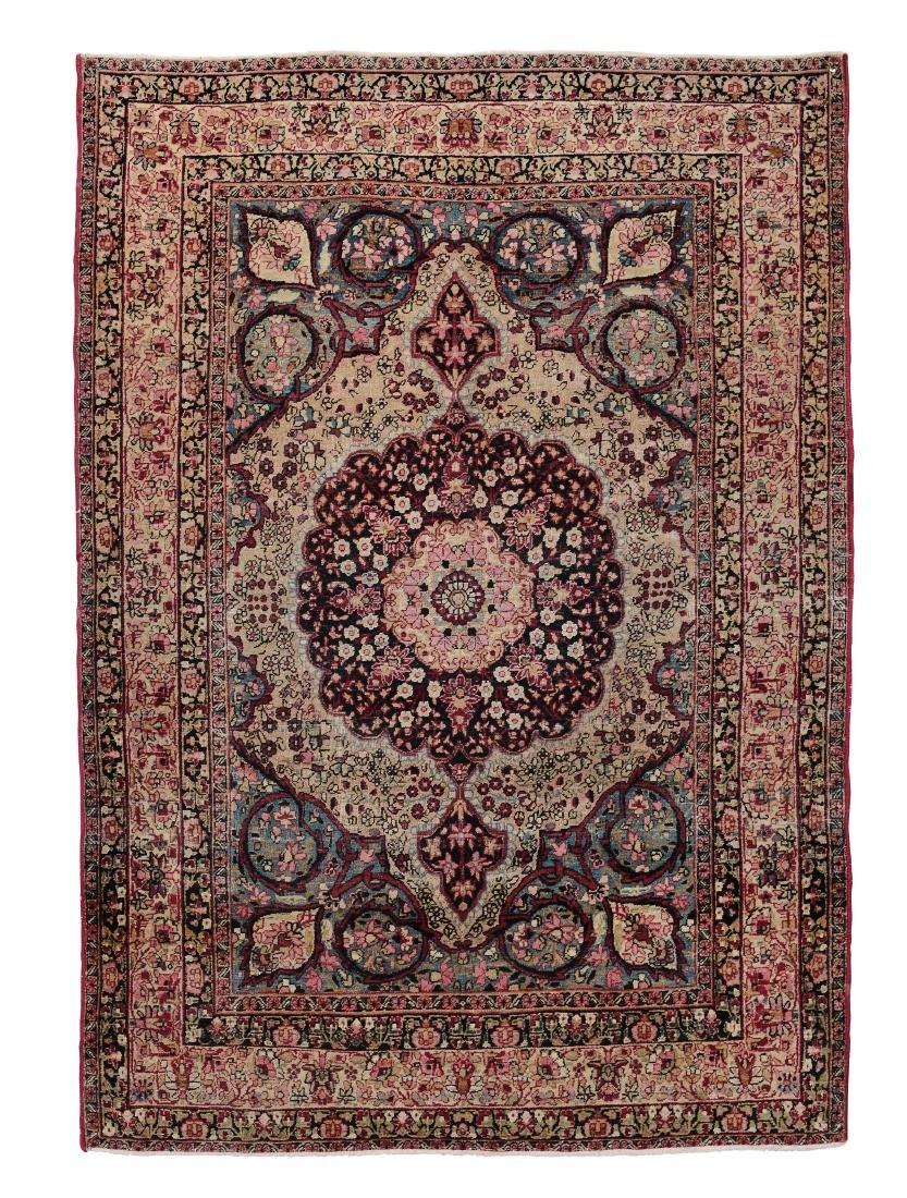 Tappeto Kirman, Persia fine XIX inizio XX secolo,
