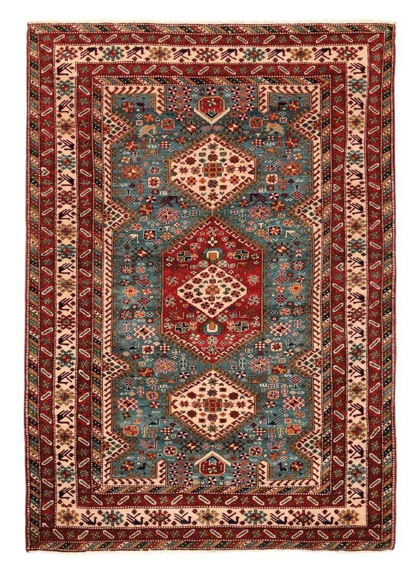 Inusuale tappeto forse armeno,inizio XX secolo,