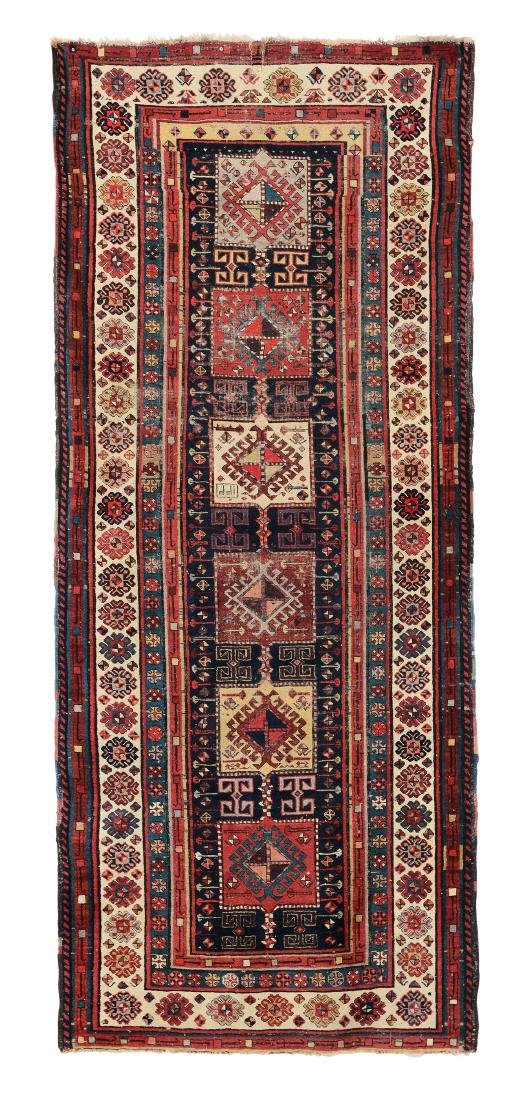 Tappeto Shirvan Caucaso inizio XX secolo,