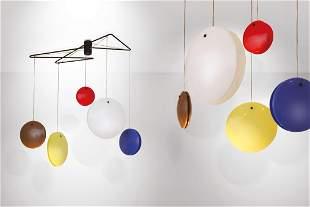 Gino Sarfatti, 2072 Jo-Jo lamp, Arteluce, 1953