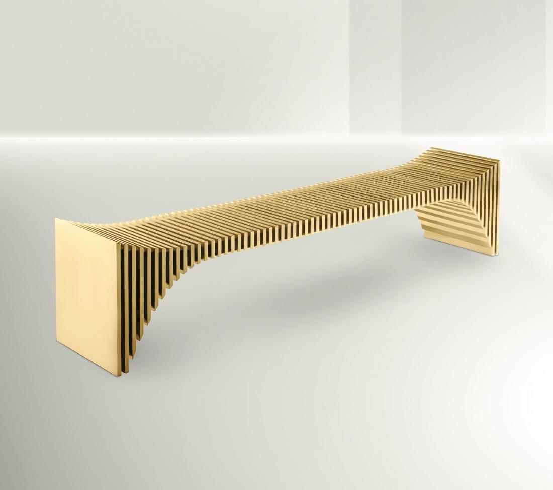 Ronald Scliar Sasson, a bench, Brazil, 2018