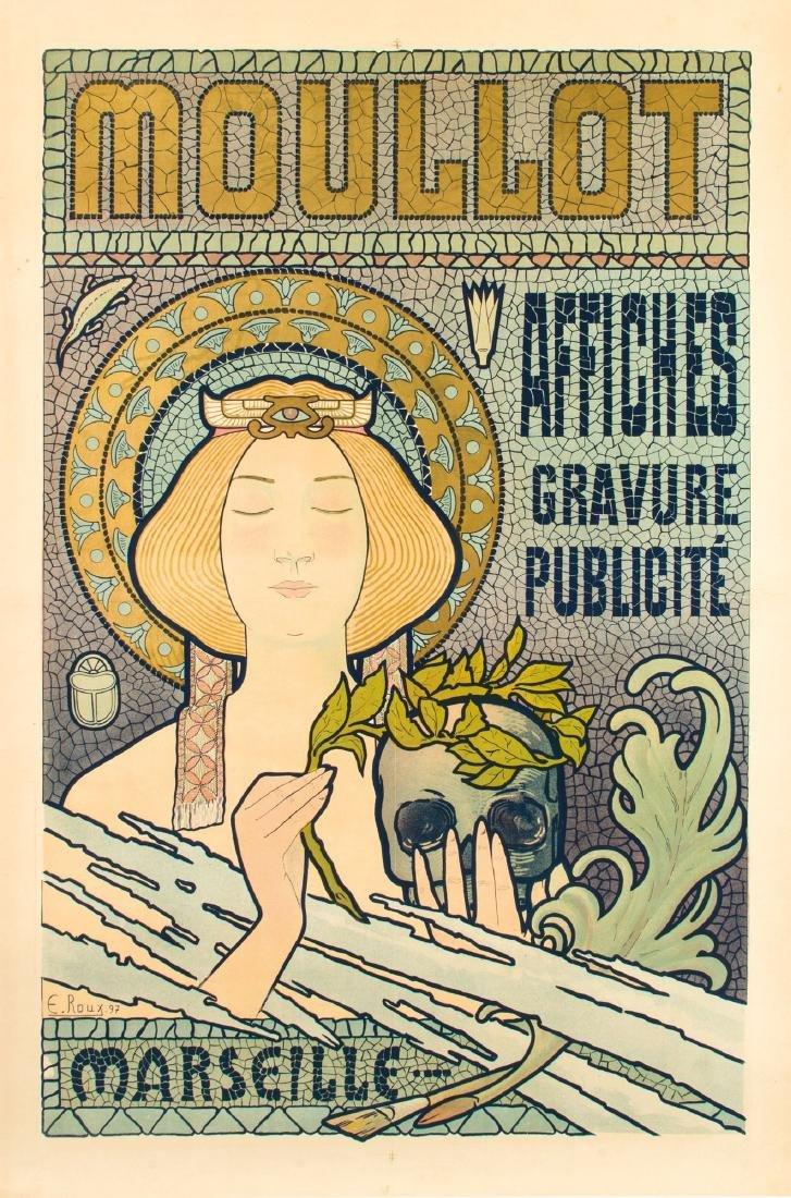 E. Roux, Moullot Marseille, 1900 ca.