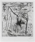 Joan Mir 18931983 Jeune fille en fleur avec les