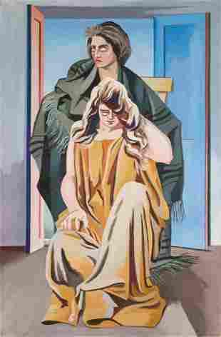 Alberto Magnelli (1888-1971), Due donne, 1924-1928