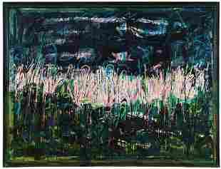 Mario Schifano (1934-1998), Acquatico, 1985