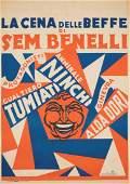 Giulio Cisari (1892-1960), LA CENA DELLE BEFFE DI SEM