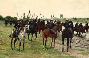 Ruggero Panerai (1862 - 1923), Soldati a cavallo