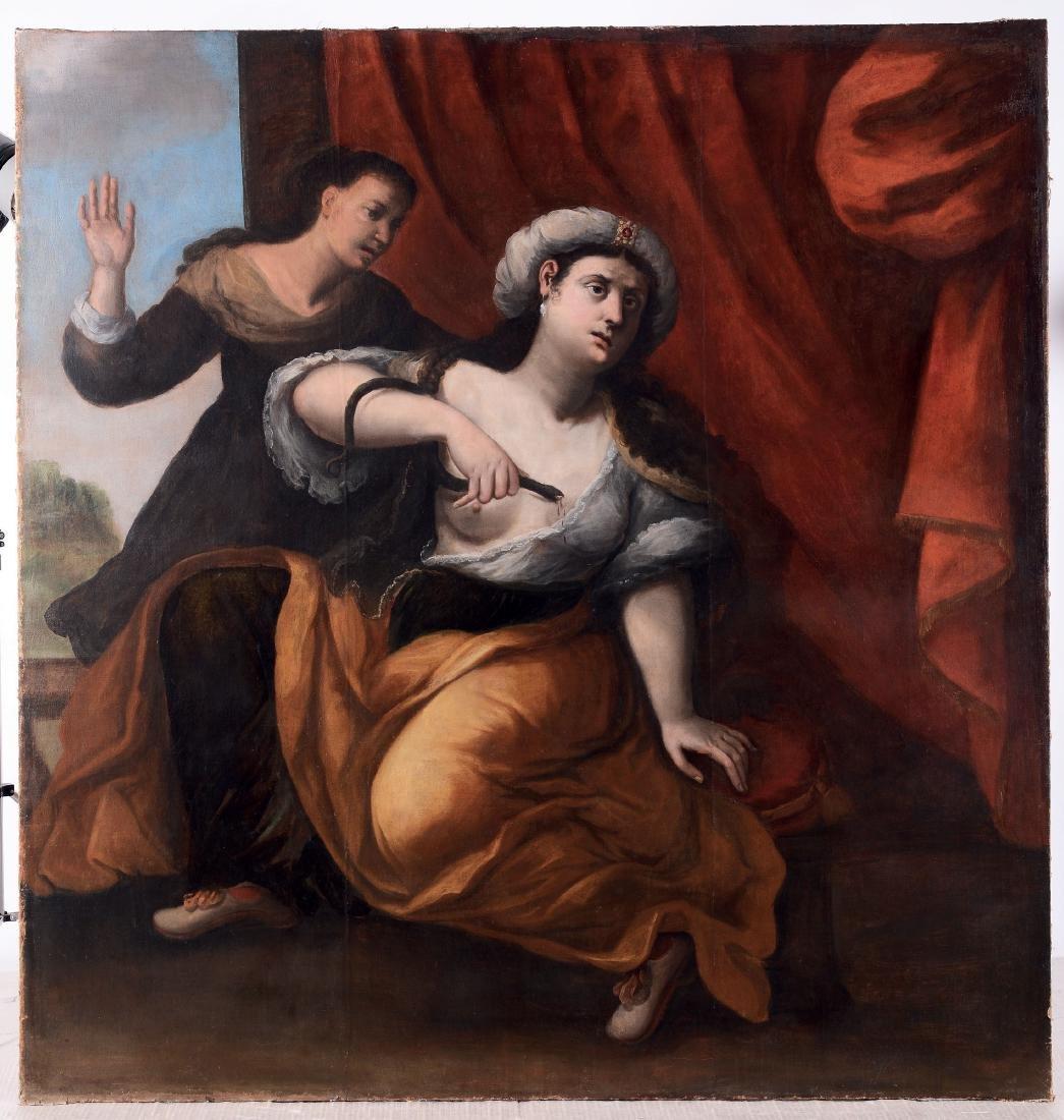 Scuola italiana del XVII secolo, Cleopatra