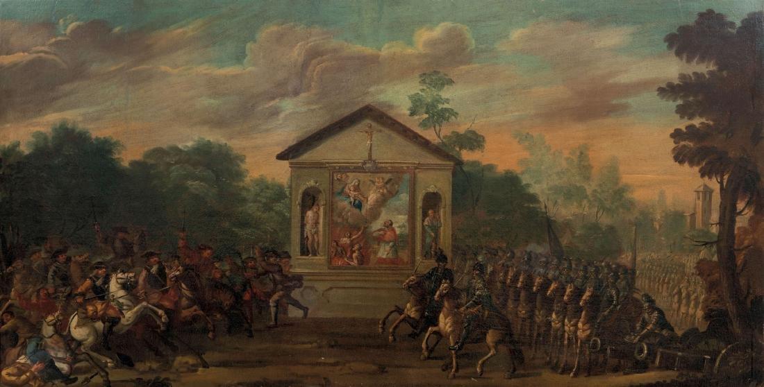 Scuola italiana del XVIII secolo, Ingresso