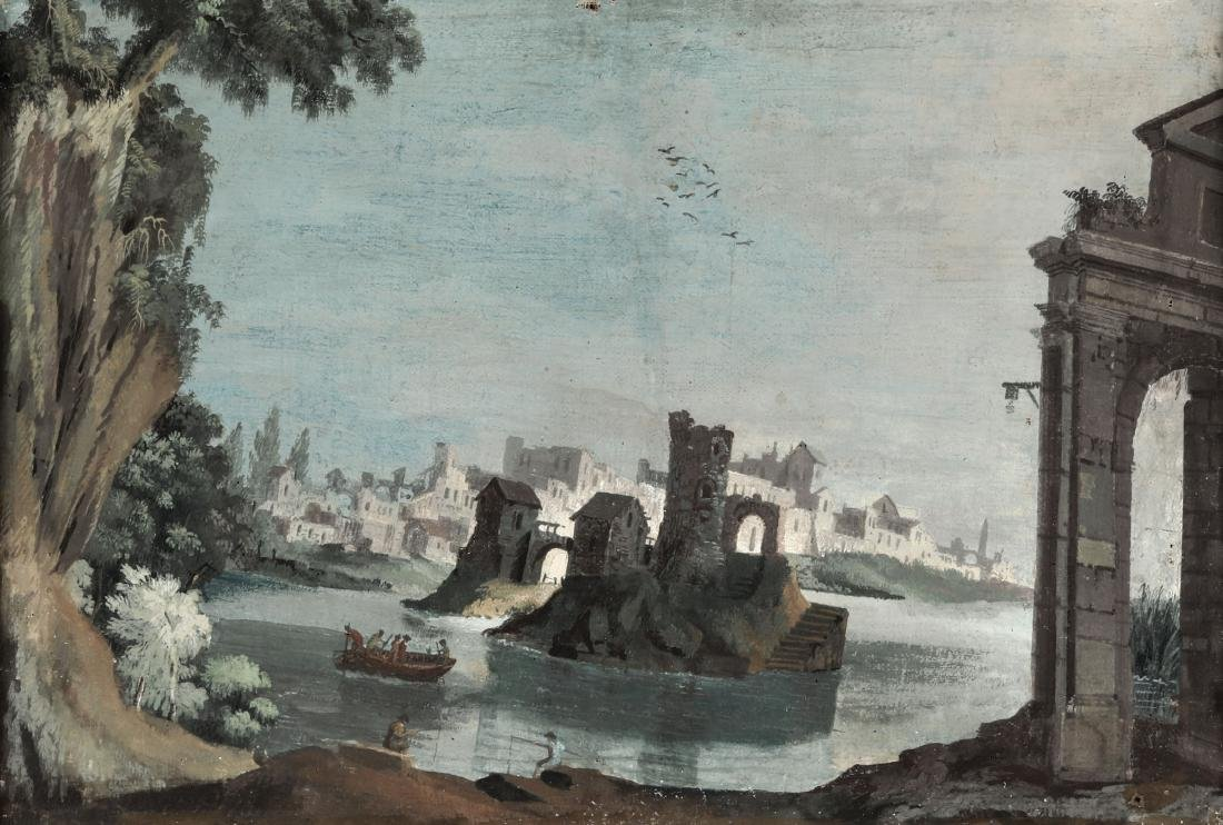Scuola italiana del XVIII secolo, Girolamo Pezzoni (?),