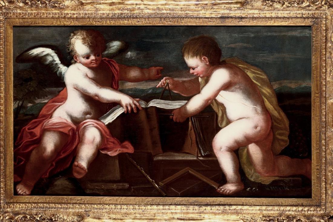 Scuola Italiana del XVII secolo, Allegoria della