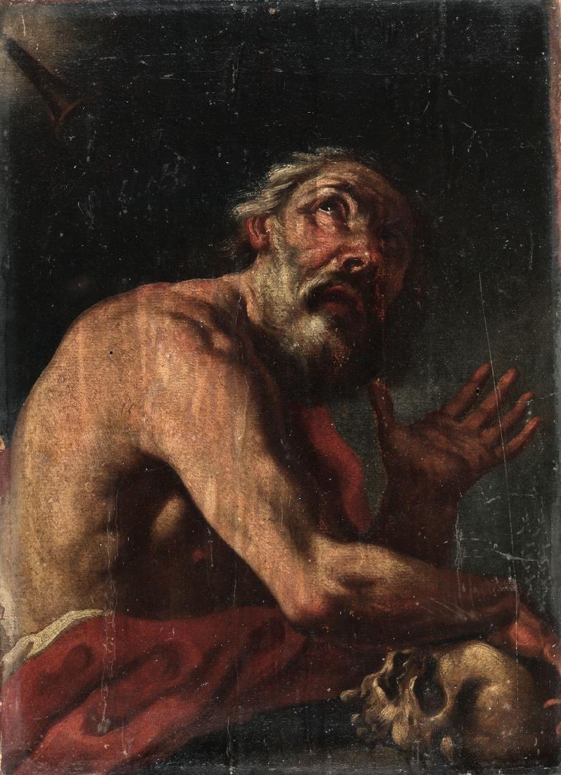 Scuola italiana del XVII secolo, San Gerolamo