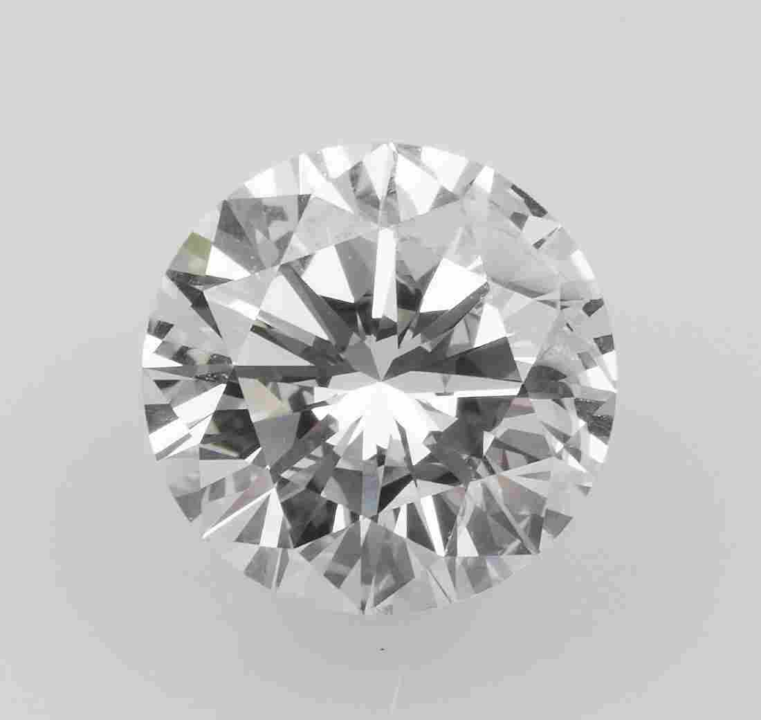 Unmounted brilliant-cut diamond weighing 2.19 carats