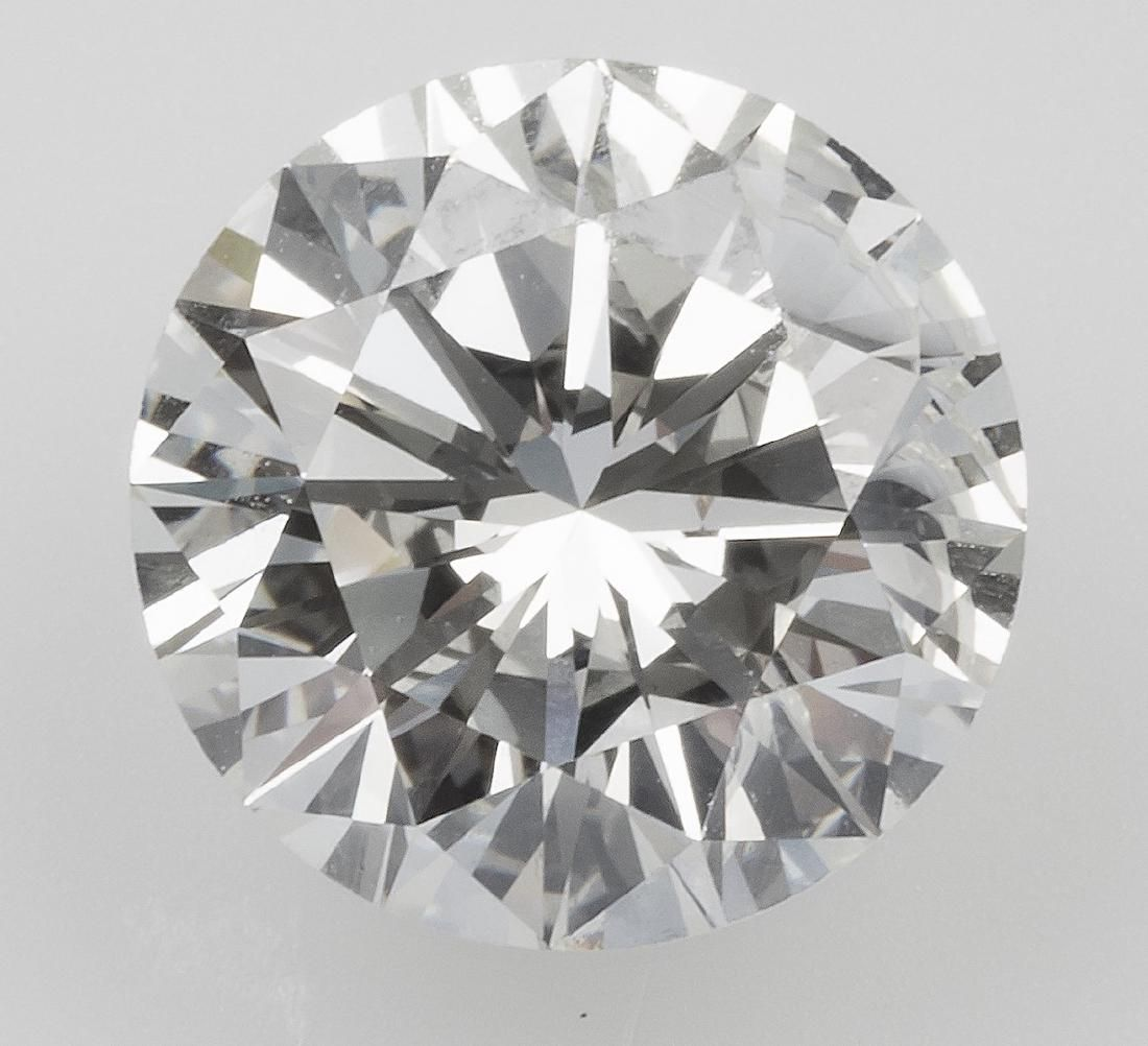 Unmounted brilliant-cut diamond weighing 2.28 carats
