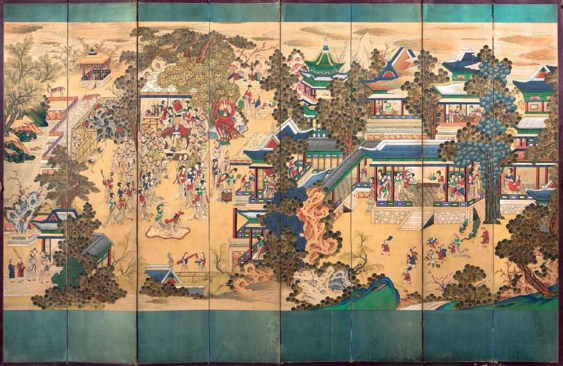 A large screen, Korea, Joseon Dynasty