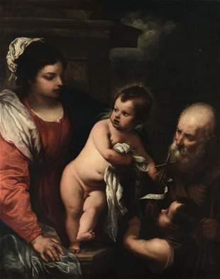 Giovanni Bernardo Carbone (1616-1683), Sacra Famiglia