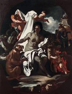 Francesco Solimena (1657-1747), Allegoria dell'Africa