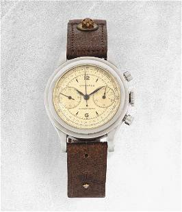 LONGINES - Stainless steel '40s-'50s Years chronograph