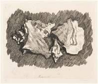 G Morandi Natura morta con conchiglie 1930