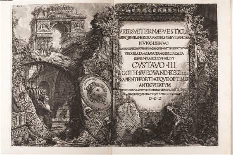 Piranesi, Giovanni Battista ( Mogliano Veneto, 1720 -